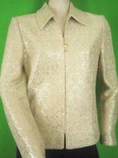 ST. JOHN EVENING Beige Textured Knit NEW Jacket 6