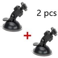 2x Suction Cup Car Windshield Dash Cam Holder Sport DV DVR Camera Mount