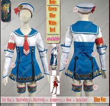 Monster Hunter 3G Blue Cosplay Costume Custom