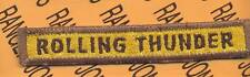 """245th Armored """"ROLLING THUNDER"""" TANK TAB patch"""