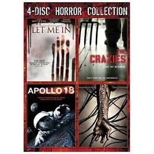 Let Me In/The Crazies/Apollo 18/Pandorum (DVD, 2013, 4-Disc Set)