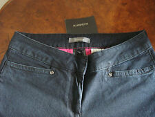 Brand New Women's Liz Claiborne Dark Blue Denim Jeans House of Fraser RRP GBP55