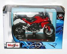 Maisto - DUCATI MULTISTRADA 1200S (2011) Red - Motorbike Model Scale 1:18