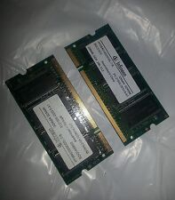 Lot of (2) Infineon HYS64D32020GDL-7-B 256MB PC2100 SDRAM DDR Memory (512MB)