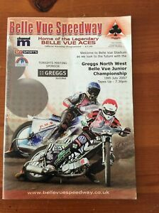 2007 BELLE VUE JUNIOR CHAMPIONSHIP 18th JULY  ( GOOD CONDITION )