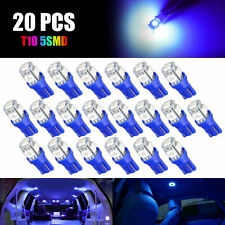 WLJH 4pcs Ice Blue 194 LED Light Bulb Super Bright 168 2825 W5W T10 LED Bulbs 9 SMD 2835 Chipsets LED Replacement Bulbs Error Free for Car Interior Dome Map Door Courtesy License Plate Light