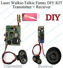 Laser Telephone Wireless Audio Transmission Walkie - talkie Funny Science DIY