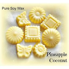 8 Pineapple Coconut pure Eco Soy Wax melts for oil burner to scent your home