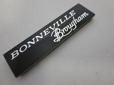 NOS 1982 - 1986 Pontiac Bonneville Brougham dash emblem nameplate badge OEM GM