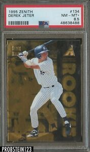 1995 Zenith #134 Derek Jeter New York Yankees HOF PSA 8.5 NM-MT+
