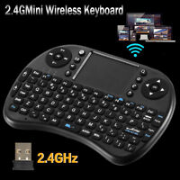 2.4G Mini Wireless Keyboard Touchpad Remote Qwerty Mouse  For Android TV BOX  PC