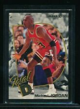 1992 93 Fleer Total D #5 Michael Jordan VG+ centered rack packs SWSW6