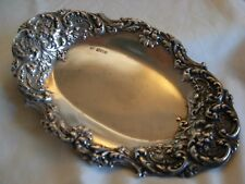 LATE VICTORIAN STERLING SILVER BOWL BY JOHN ROUND & SON Ltd. SHEFFIELD 1899 - #1