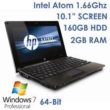 """HP Mini 5103 10"""" Netbook Intel 1.66Ghz Wi-Fi BT Webcam Win7 Laptop BAD BATTERY"""