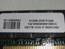 KByte 512MB DDR PC400