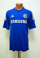 CHELSEA 2014/2015 HOME FOOTBALL SHIRT JERSEY ADIDAS SIZE M ADULT