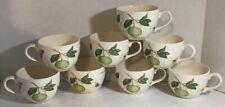 Vintage Wedgewood Sarah's Garden Queen's Ware Coffee Cups Set Of 7