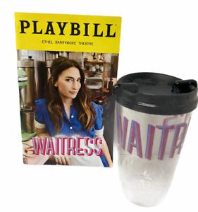 Waitress Musical Playbill 2021 Sara Bareilles Souvenir Cup Broadway is Back