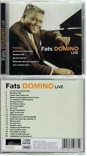 "FATS DOMINO ""Live"" (CD) 2007 NEUF"