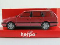 Herpa 032056 VW Passat GL Variant (1993) in almandinrotmetallic 1:87/H0 NEU/OVP