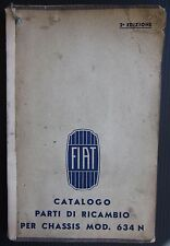 FIAT AUTOCARRO 634 N catalogo parti di ricambio spares catalogue Ersatzteilliste
