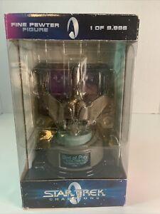 Star Trek Champions Bird Of Prey 1984 Numbered Edition Pewter Figure