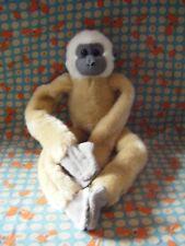 """Wild Republic Beige Lémurien Hanging jouet doux 17"""" environ très bon état"""