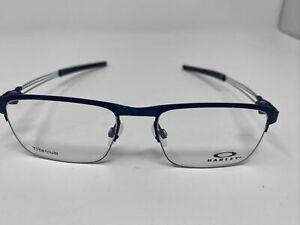 OAKLEY TITANIUM TRUSS ROD OX5123-0352 51/18 143 blue mens eyeglass frames P26