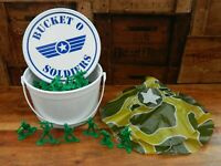 Disney Pixar Toy Story Collection Bucket O Soldiers - 71 Soldiers + Certificate