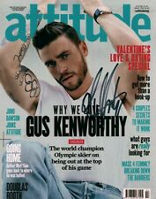 Gus Kentworthy Freestyle Skier Olympian Signed 8x10 Autographed Photo COA