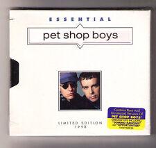 Essential Pet Shop Boys [LIMITADO] Nuevo Sellado US CD HYPE Pegatina Plantilla