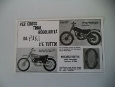 advertising Pubblicità 1971 PUKI (PANCALIERI) MONTESA COTA 247/MX CROSS 125 175