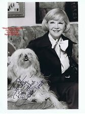 CLAIRE TREVOR American Bad Girl Actress Queen of Film Noir HAND SIGNED B/W Photo