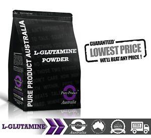 1KG PHARMACEUTICAL GRADE 100% PURE MICRONISED L GLUTAMINE Powder