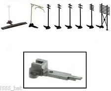 New Hornby S8155 Track Clip For Telegraph Poles/ Masts, Uncoupler & Fencing