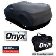 CAMARO ONYX BLACK SATIN CAR INDOOR COVER STRETCH FITS ALL 10 and LATER CAMARO'S