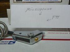 5 Pin Pistol Grip New Cb Power Mic Chrome W Metal Cord For Cobra Uniden Radio *