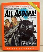 Book History of LIONEL ALL ABOARD CELEBRATING 100 YRS OF LIONEL TRAINS HB,