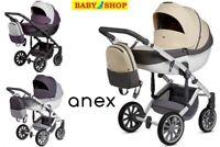 Stroller Anex m/type Sport  2in1 pram carrycot sport seat trolley puschair