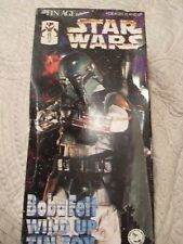 STAR WARS BOBA FETT TIN WIND UP, WITH REAL CLOTH CAPE A