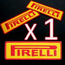 1 x PIRELLI Advertising Iron Patch Racing MotoGP Yamaha Ducati Honda Suzuki Team