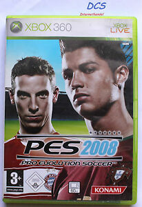 Pro Evolution Soccer PES 2008 ( Microsoft Xbox 360 Spiel ) Fußball