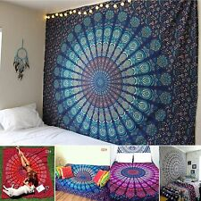 Boho Indian Beach Tapestry Yoga Mats Blanket Towel Bedspread Wall Hanging Decor