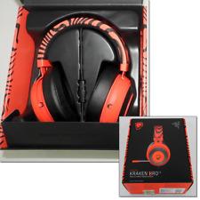 Razer Kraken pro v2 Red PewDiePie model collaboration item Video game headsets