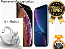 T-Mobile iPhone XR PREMIUM PERMANENT FACTORY UNLOCK SERVICE - 100% Guarantee!