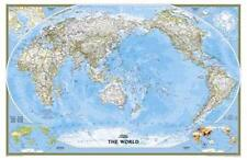 Poster Political World Atlas Pacific Horizontal Format 46 1/10x29 9/10in  100193