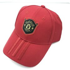 Manchester United adidas C40 Adjustable Hat - Red - Brand New