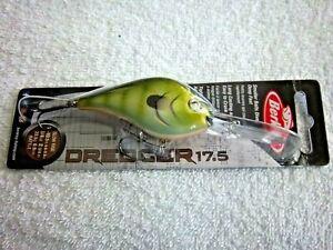 BERKLEY DREDGER 17.5 BHBDR17.5-RBBT 3/4 OZ  DEEP DIVER IN GREEN GILL COLOR