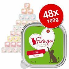 Wet Cat Food Grain Gluten Free Premium 48 x 100g Trays Healthy Quality Best