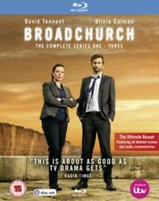 Broadchurch Series 1 to 3 Complete Collection Blu-ray UK BLURAY